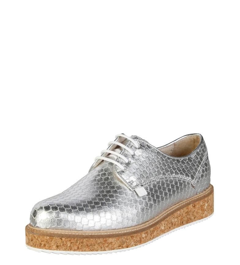 plateado i print i Zapatos animal Trussardi 5XqYROx