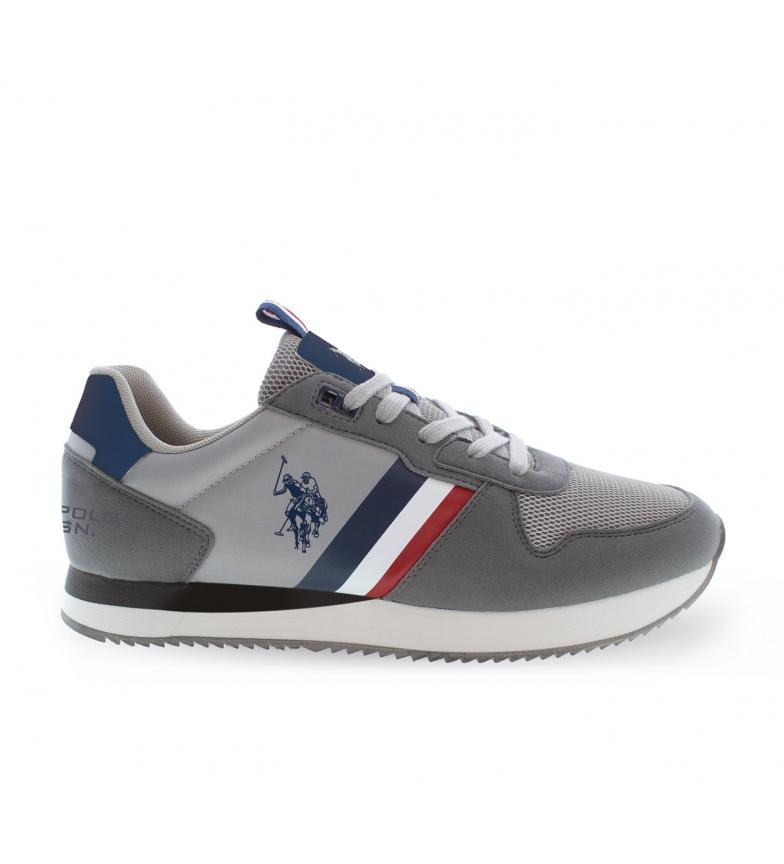 U.S. Polo Assn. Sneakers Nobil 4115S1 gris