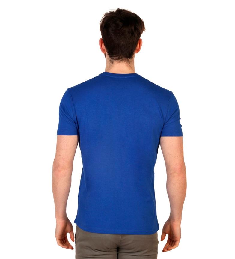 U.S. Polo Camiseta m/c azul