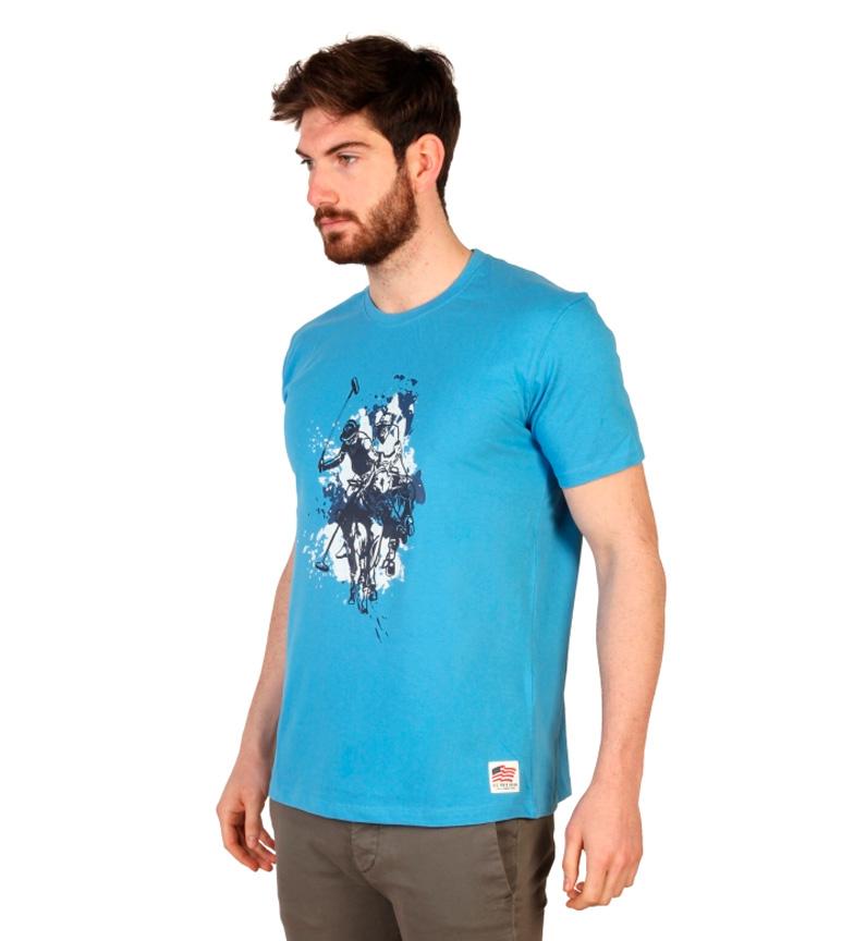 Oss Polo Skjorte M / C Blå nyeste online Tb1PsUjziS