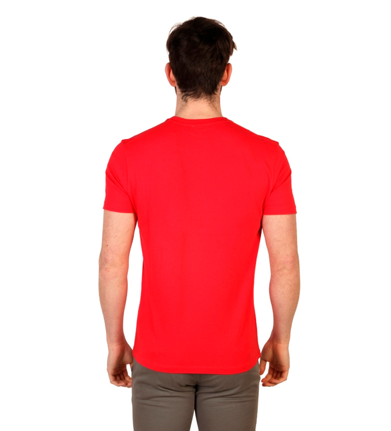 U.S. Polo Camiseta m/c rojo