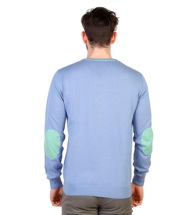 U.S. Polo Jersey azul, menta