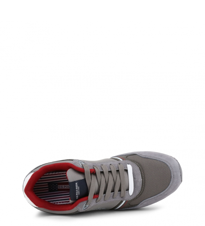 Flash sPolo sPolo U Grey U Sneakers Grey Sneakers Flash OiTZkXuwP