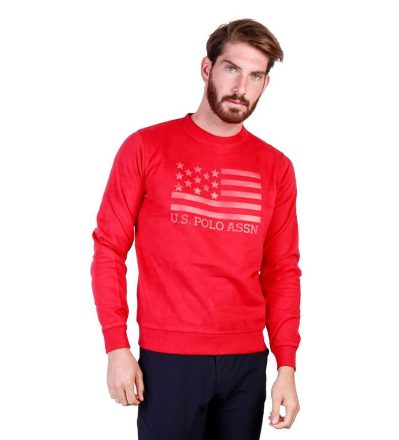 Comprar U.S. Polo Assn. Capuz m / l vermelho