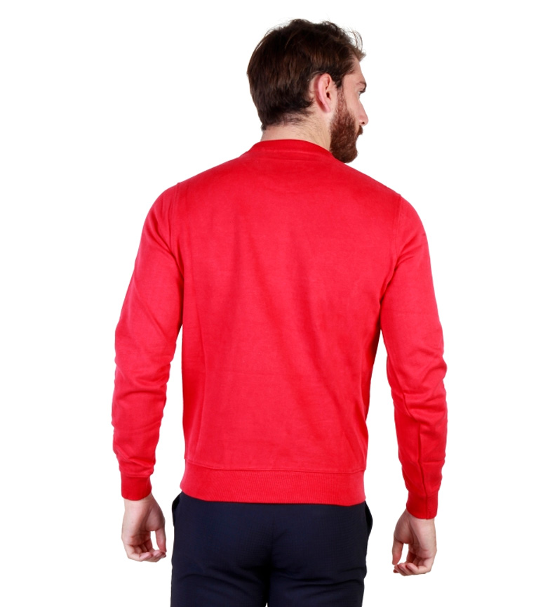 U.S. Polo Sudadera m/l rojo