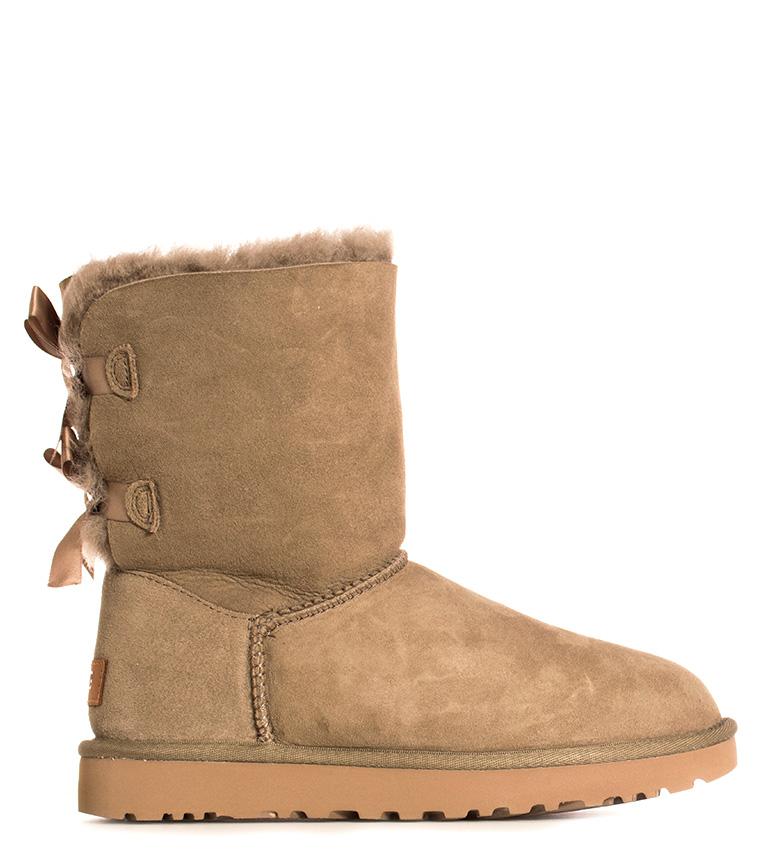 Comprar UGG Australia Bailey Bow II antilope leather boots