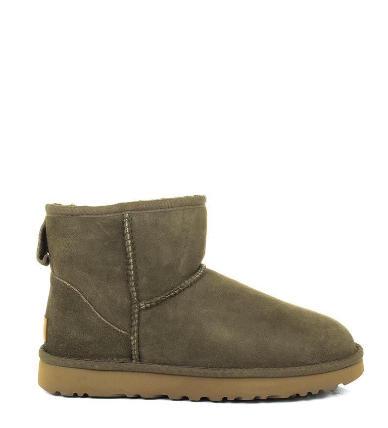 Comprar UGG Australia Leather boots Classic Mini II eucalyptus