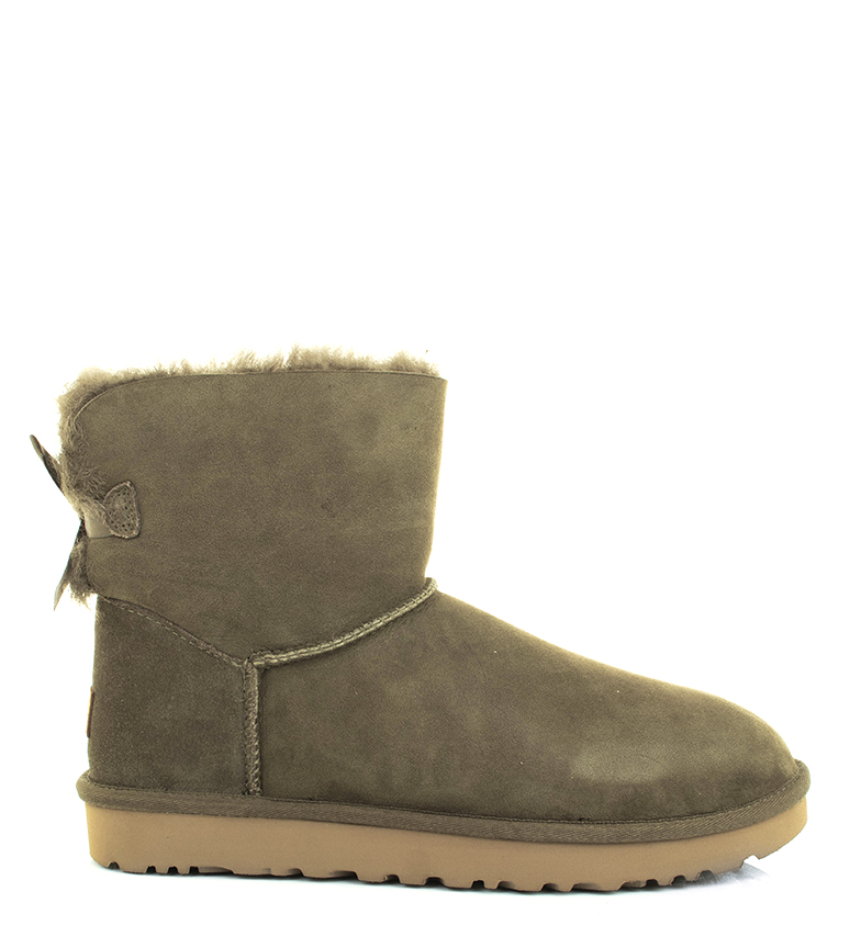 Comprar UGG Australia Leather boots W Mini Bailey Bow II eucalyptus