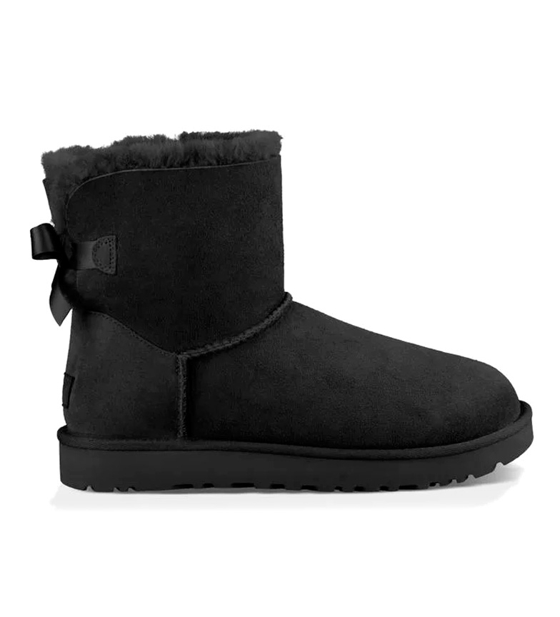 Comprar UGG Australia W Mini Bailey Bow II in pelle nera