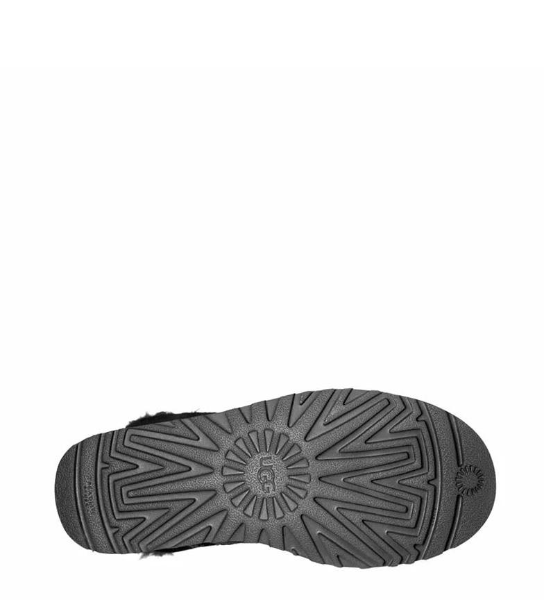 piel UGG Bow II Bailey de W Australia Botas Mini negro xrrq4t