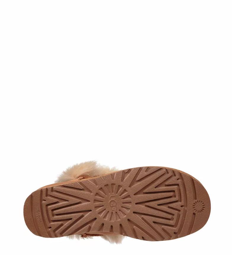 Australia chestnut piel Botas UGG W de Deena dPfpYwaxq
