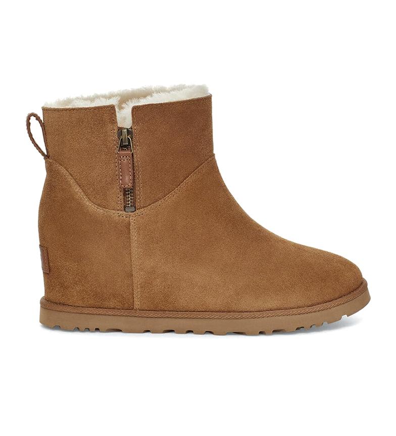 Comprar UGG Boots W Classic Femme Zip Mini chesnut -Hauteur de la cale intérieure : 5cm