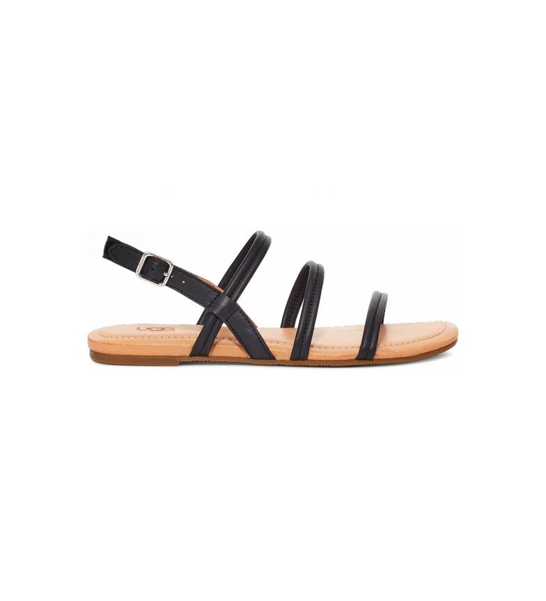 Comprar UGG Sandales en cuir noir Mytis