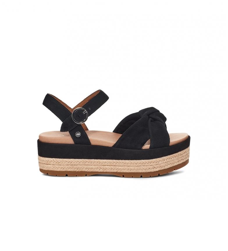 Comprar UGG Trisha black sandals -Platform height: 6cm