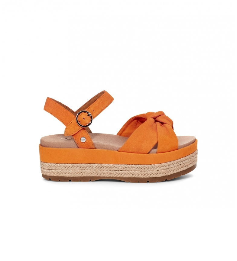 Comprar UGG Trisha orange sandals -Platform height: 6cm