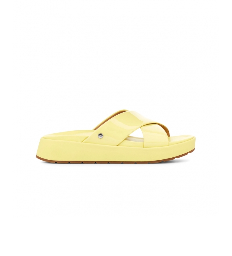 Comprar UGG Emily yellow leather sandals