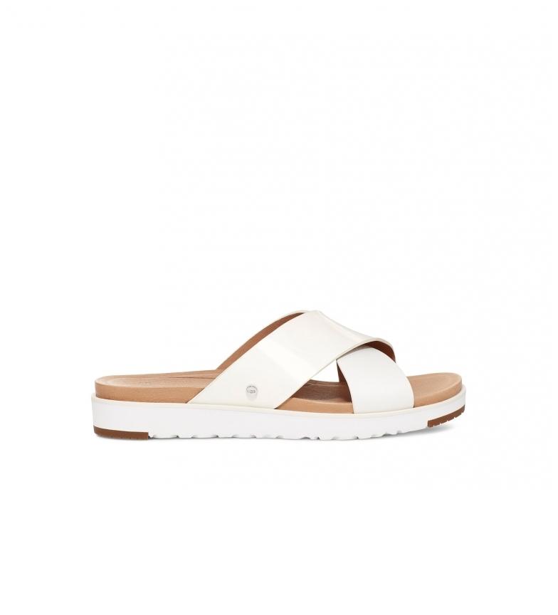 Comprar UGG Kari white leather sandals
