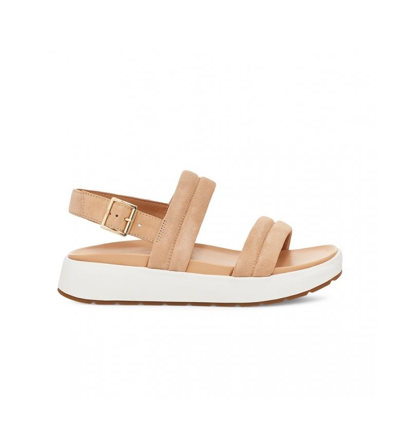 Comprar UGG Leather sandals Lynnden nude
