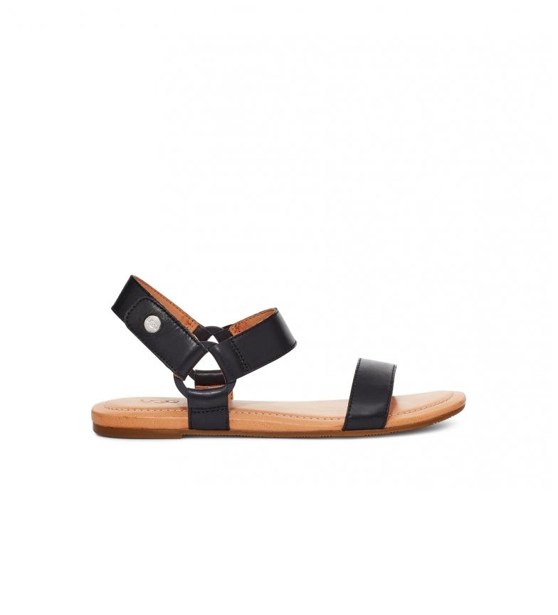 Comprar UGG Rynell black leather sandals