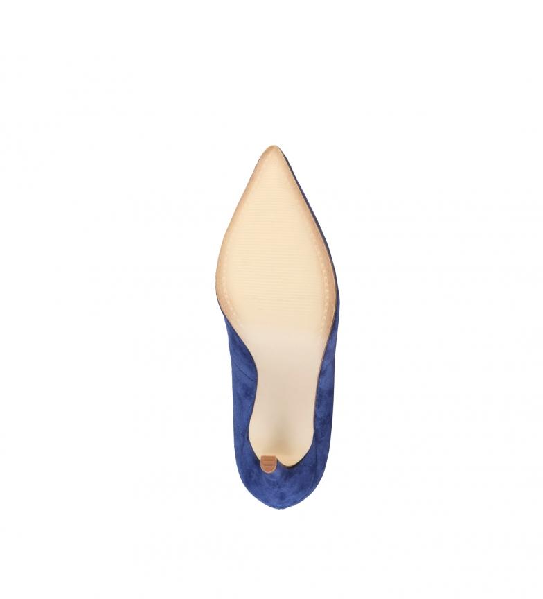 ante br Zapatos azul V Altura 1969 br 9cm de Mathilde índigo tacón nt1wC8Rx