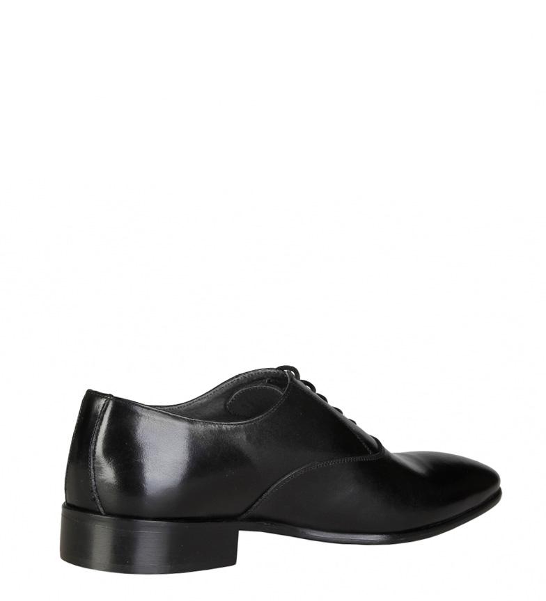 V 1969 Zapatos de piel Gilbert negro