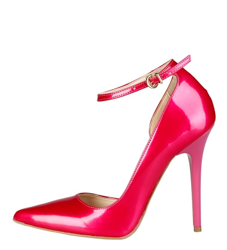 V V tacón 1969 11 Zapatos Evelyne Altura fucsia 1969 5cm Altura Zapatos Evelyne fucsia tRXUXq
