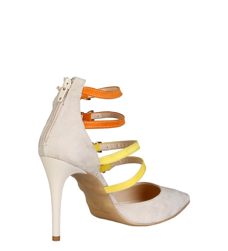 V 1969 Zapatos Seline beige Altura tacón: 9,5cm