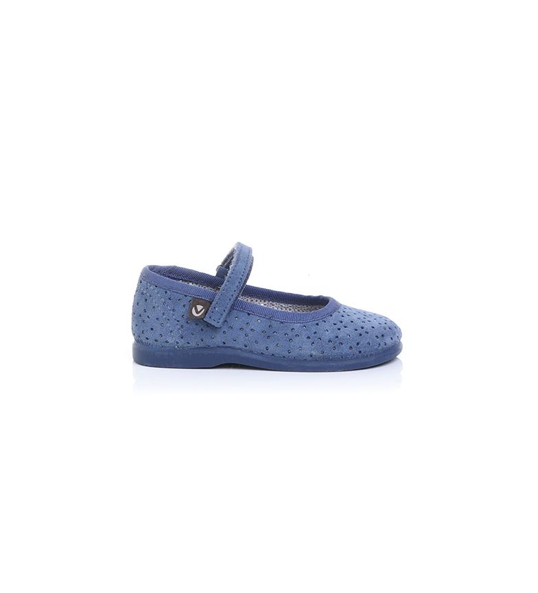 Comprar Victoria Sapatos de couro 102755 azul