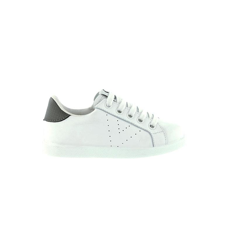 Comprar Victoria Zapatillas de piel Cremallera blanco