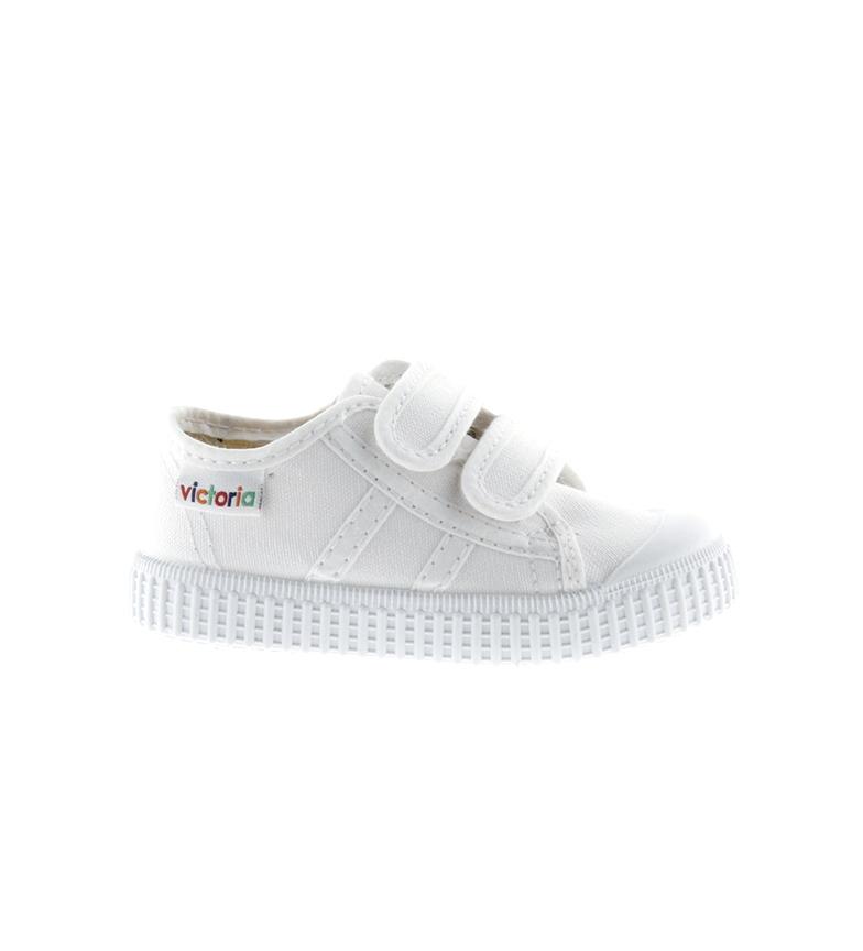 Comprar Victoria Zapatillas Tiras blanco