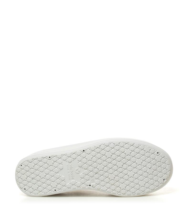 Victoria Zapatillas Victoria lona Altura plataforma de Zapatillas blanco 7cm rr1dvw