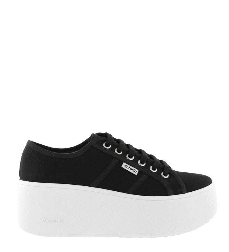 Comprar Victoria Sapatos corajosos pretos - altura da plataforma: 6cm