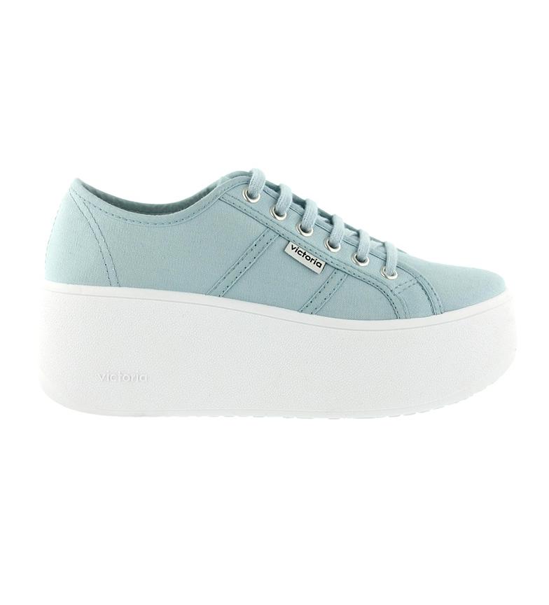 Comprar Victoria Brave chaussures bleues - Hauteur de la plate-forme : 6cm