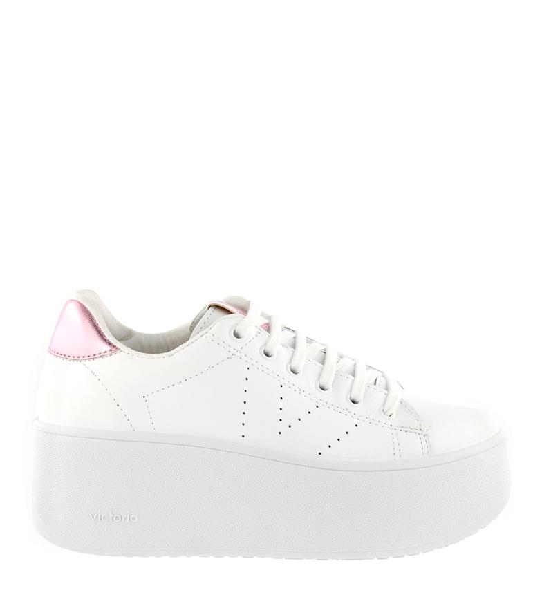Comprar Victoria Zapatillas de piel Valiente rosa -Altura plataforma: 7cm-