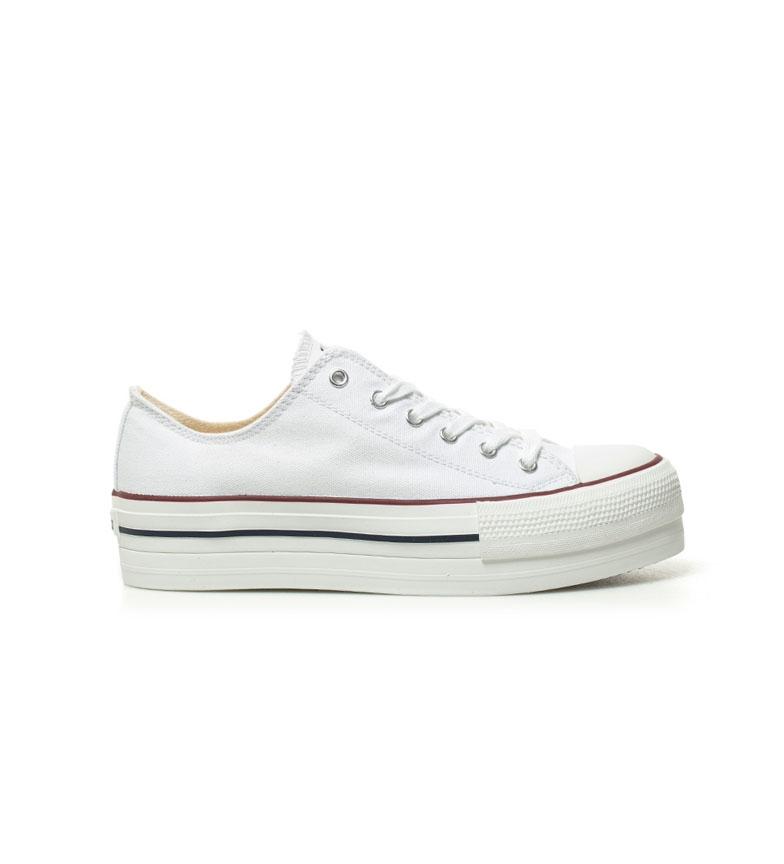 Comprar Victoria Chaussures de basket blanc - Hauteur de la plate-forme : 4 cm