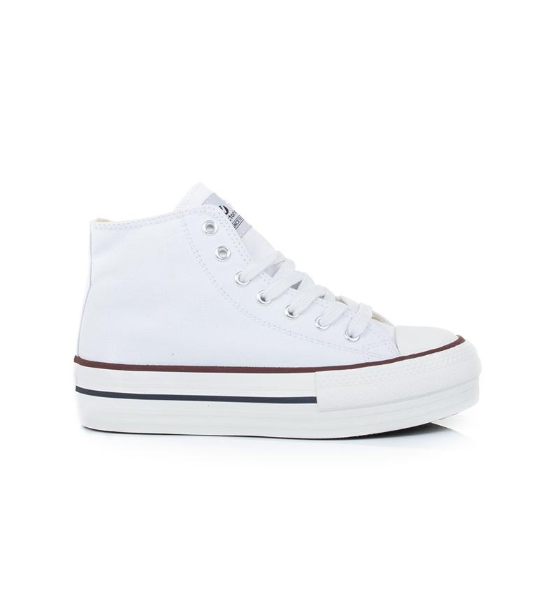 Comprar Victoria Sapato Amsterdam branco - altura da plataforma: 4cm