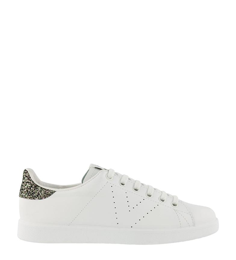 Comprar Victoria Glitter sapatos de couro dióspiro