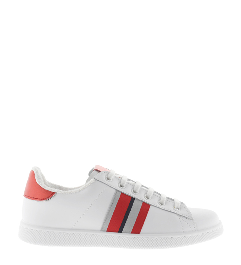 Comprar Victoria Stripes red leather sneakers