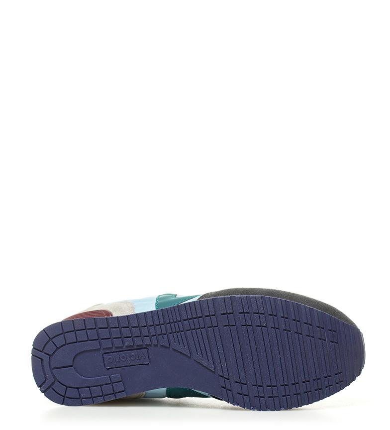 azul de Zapatillas combinadas piel Victoria PCB4aOqwTT