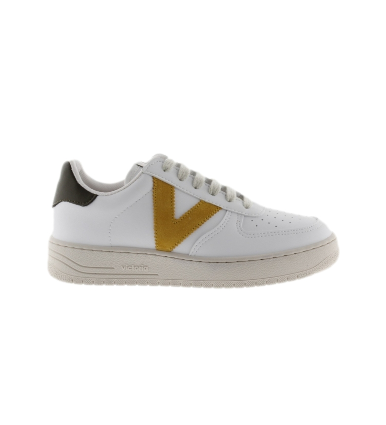 Comprar Victoria Sneakers Sempre branco, mostarda