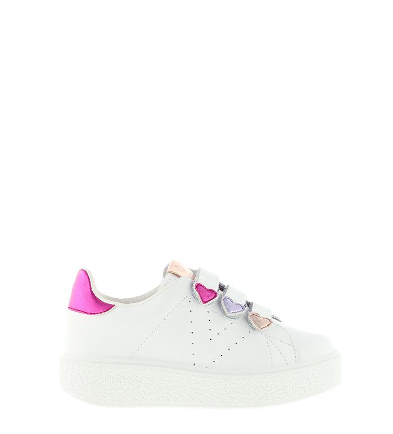 Comprar Victoria Utopia Sapatos de Alívio de Utopia Tiras de Coração Branco - Altura da Plataforma: 3cm