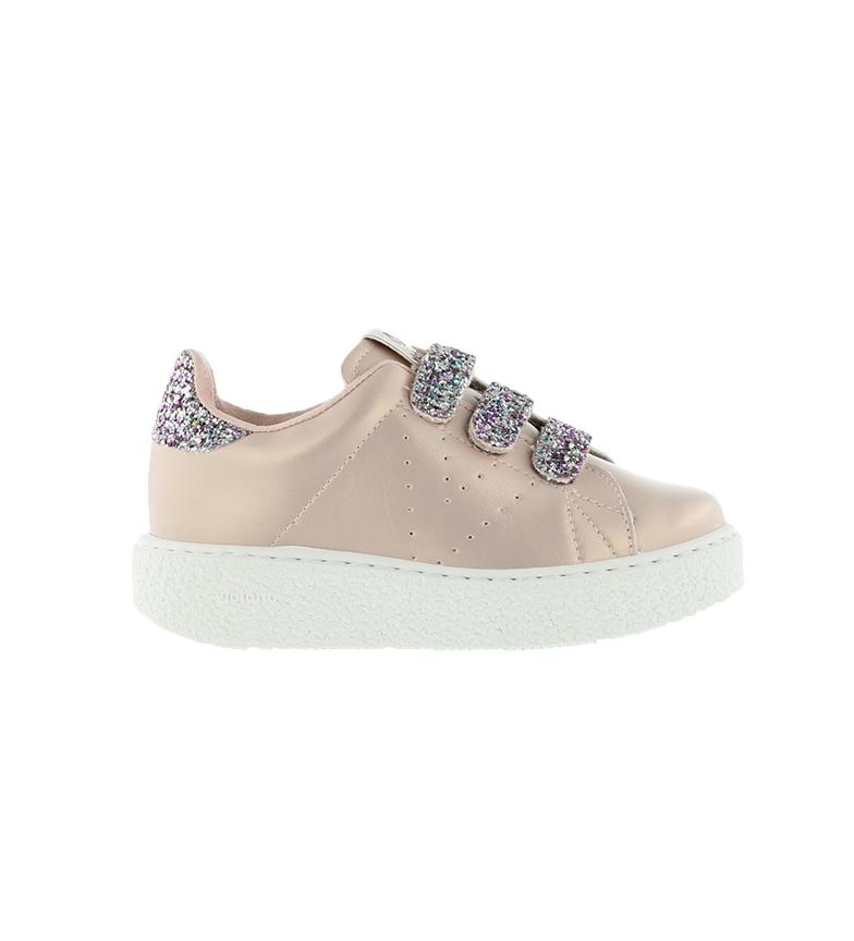 Comprar Victoria Utopia Sneakers Strips Glitter nude-Altezza piattaforma: 3cm-