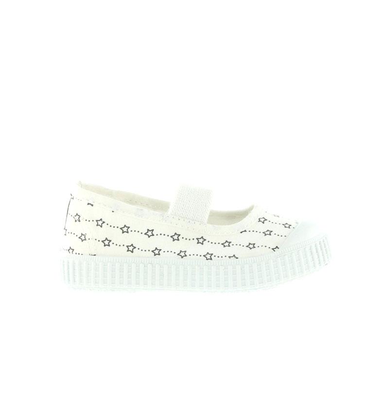 Comprar Victoria Sneakers ballerina stelle bianche
