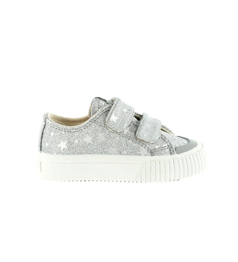 Comprar Victoria Tribe Slippers Strips Stars Silver