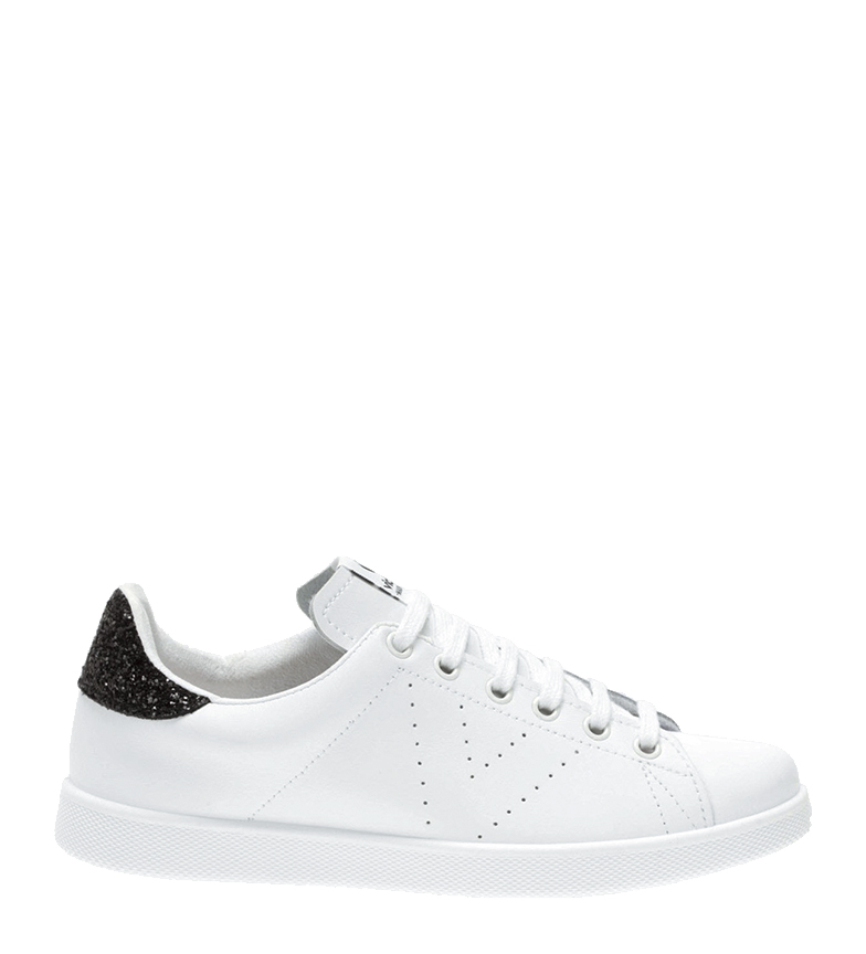 Comprar Victoria White/anthacite leather sneakers