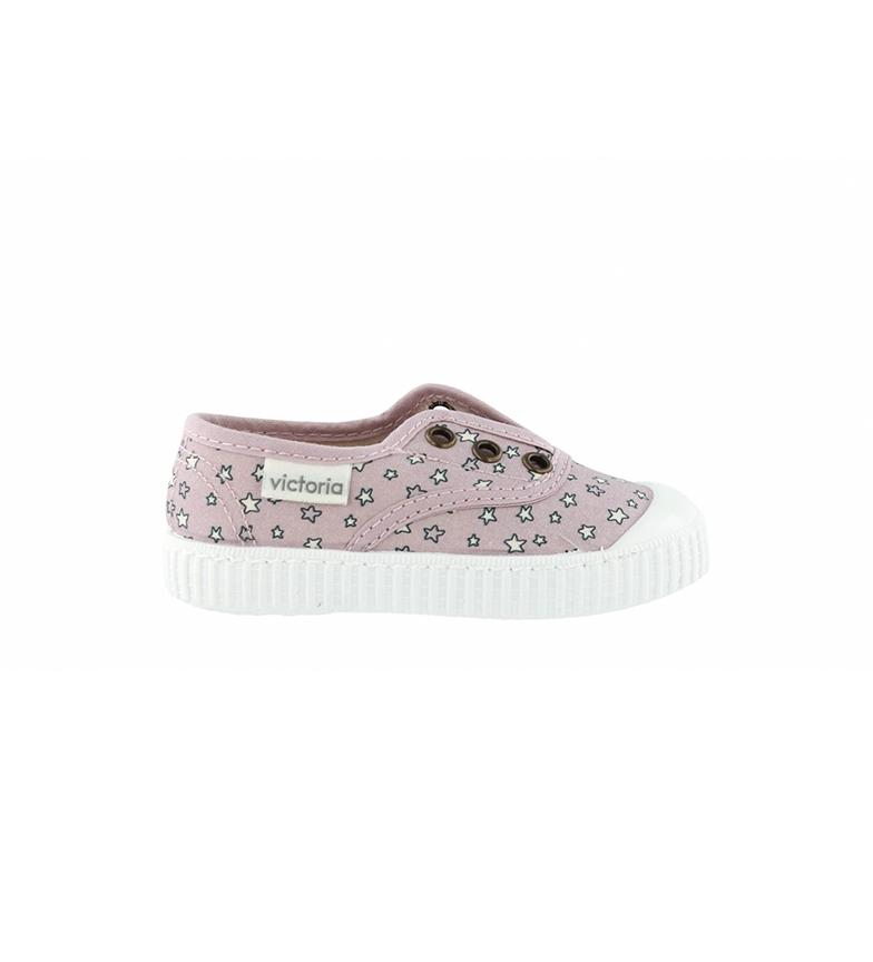 Comprar Victoria Sapatos Elásticos Pink Stars Inglês