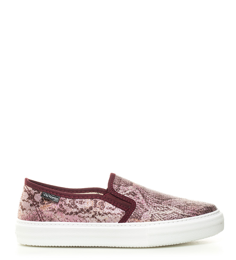 Comprar Victoria Slip On animal print rosa