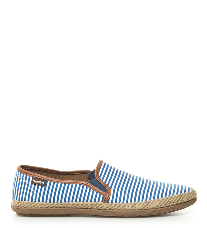 Comprar Victoria Slip On estampado azul