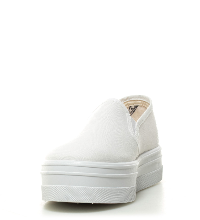 lona 4cm Altura On Victoria Slip blanco Victoria Slip plataforma Zxtt8wIY