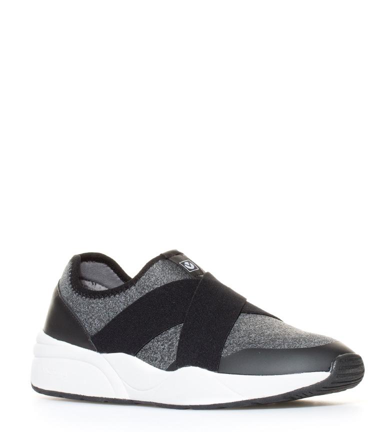 Victoria Sneakers de neopreno con elásticos antracita